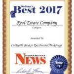 Sedona's Best Real Estate Company 2017 Coldwell Banker Residential Brokerage – Sedona Red Rock News